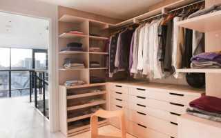 Как сделать гардеробную своими руками: составление схемы и пошаговое изготовление