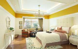Вредны ли натяжные потолки в спальне