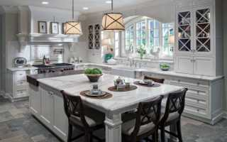 Дизайн кухни в загородном доме: комфорт прежде всего