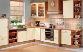 Стандартная высота кухонного гарнитура от пола до столешницы