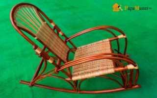 Как делается плетеная мебель из лозы своими руками от начала и до конца