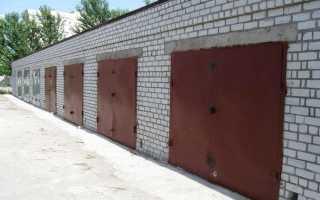 Металлический и кирпичный гараж: плюсы и минусы