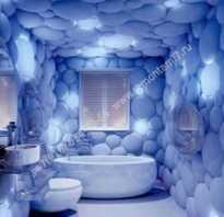 Живая 3D плитка в ванной