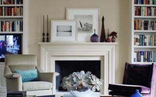 Декор в гостиной; 80 фото идей стильного и необычного оформления