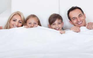 Выбираем размер одеяла