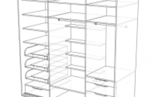 Сборочные чертежи шкафов купе