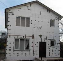 Пенопласт как материал для отделки фасада дома