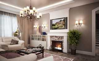 Отделка гостиной в частном доме — планируем и обустраиваем