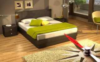 Как правильно ставить кровать в спальне