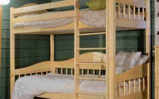Двухъярусные кровати своими руками: удобно, просто, экономно