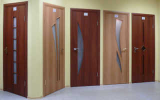 Межкомнатные двери МДФ или шпон