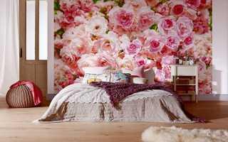 Фотообои в спальню: 60 фото и идей