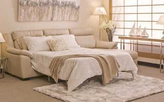 Особенности размещения диванов в спальне