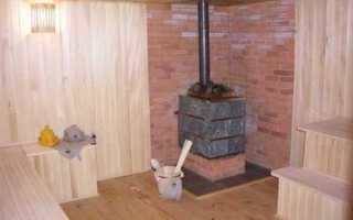 Установка металлической печи в баню: основные правила и особенности