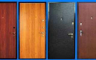 Обшивка входной двери своими руками: как и чем обделать