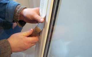 Как правильно снять стеклопакет с пластикового окна
