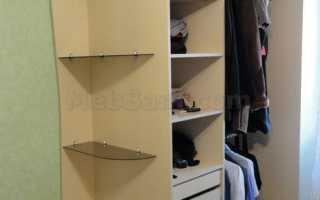 Установка раздвижной системы шкафа купе
