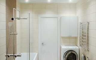 Как сделать шкаф над стиральной машиной в ванной комнате