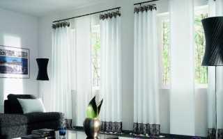 Самостоятельно шьем шторы в уютную гостиную
