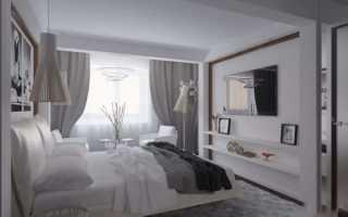 Спальня 13 кв м — фото реального дизайна