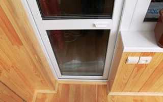 Ремонт пластиковой балконной двери; способы самостоятельного устранения неисправностей
