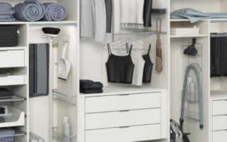 Как спланировать шкаф купе