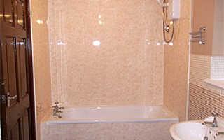 Как сделать ремонт ванной пластиковыми панелями