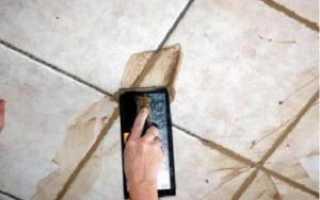 Затирка швов плитки в ванной: особенности и необходимость работы