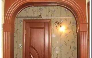 Как сделать дверь из мдф