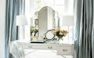 Трельяж с зеркалом: 35 изысканных моделей для красивого интерьера