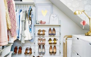 Место всегда найдется: 70 восхитительно практичных идей переделки гардеробной из кладовки
