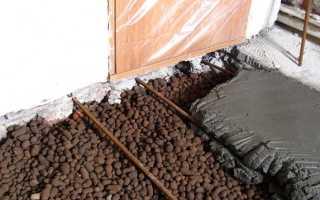 Монтаж стяжки по керамзиту: инструкция выполнения ремонтных работ