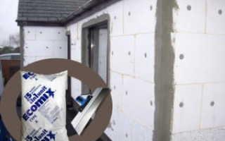 Как правильно выполнить оштукатуривание фасада по пенопласту своими руками