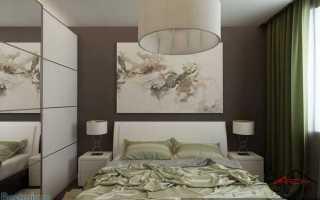 Искали идеи интерьера спальни в типовом панельном доме? Тут 2 варианта дизайна интерьера