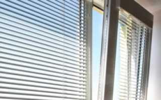 Как установить жалюзи горизонтальные на пластиковые окна