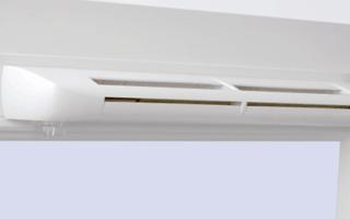 Клапан приточной вентиляции для пластиковых окон
