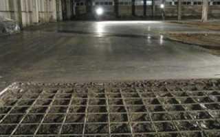 Бетонный пол в гараже: технология устройства пола из бетона от А до Я