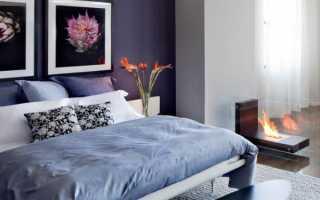 Шикарная спальня в; фиолетовых тонах; 30 фото дизайна