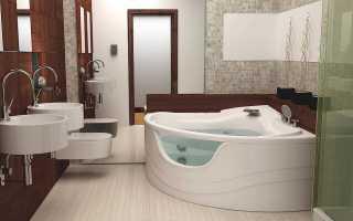 Угловые ванны: выбор модели и дизайн комнаты