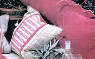Подушки на диван своими руками обогатят интерьер вашей комнаты