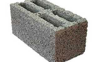 Состав керамзитобетонных блоков пропорции