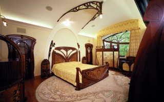 Спальня в стиле модерн: фото, примеры и особенности оформления