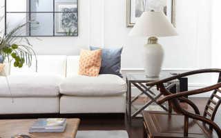 Зеркало в гостиной: советы и идеи