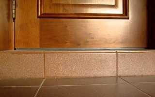 Как правильно сделать порог у входной и межкомнатной двери