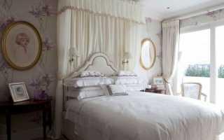 Спальня прованс; 75 фото французской гармонии в интерьере спальни