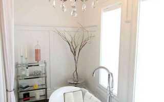 Люстра в ванную комнату: муки выбора