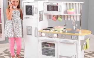 Стильная кухня для девочек своими руками