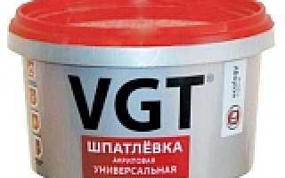 Шпатлевка ВГТ Универсальная Акриловая