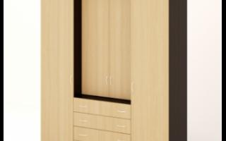 Шкаф с комодом ШК-13