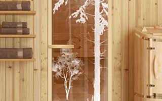 Двери в бане: какие должны быть размеры и конструкция